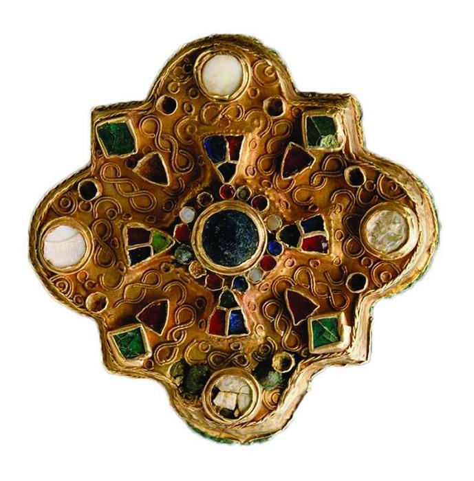 Фибула Меровингов VII век